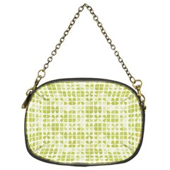 Pastel Green Chain Purses (two Sides)  by FunkyPatterns