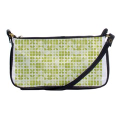 Pastel Green Shoulder Clutch Bags by FunkyPatterns
