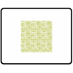 Pastel Green Fleece Blanket (medium)  by FunkyPatterns