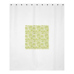Pastel Green Shower Curtain 60  X 72  (medium)  by FunkyPatterns