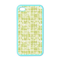 Pastel Green Apple Iphone 4 Case (color) by FunkyPatterns