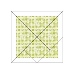 Pastel Green Acrylic Tangram Puzzle (4  X 4 ) by FunkyPatterns