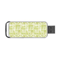 Pastel Green Portable Usb Flash (one Side) by FunkyPatterns
