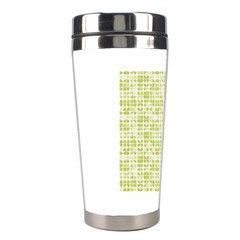 Pastel Green Stainless Steel Travel Tumblers by FunkyPatterns
