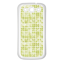 Pastel Green Samsung Galaxy S3 Back Case (white) by FunkyPatterns