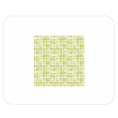 Pastel Green Double Sided Flano Blanket (medium)  by FunkyPatterns
