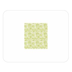 Pastel Green Double Sided Flano Blanket (large)  by FunkyPatterns