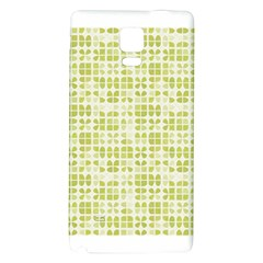 Pastel Green Galaxy Note 4 Back Case by FunkyPatterns