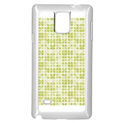 Pastel Green Samsung Galaxy Note 4 Case (white) by FunkyPatterns