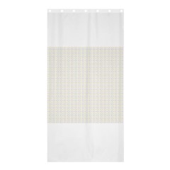 Pastel Pattern Shower Curtain 36  X 72  (stall)  by FunkyPatterns