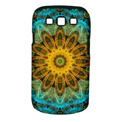 Blue Yellow Ocean Star Flower Mandala Samsung Galaxy S Iii Classic Hardshell Case (pc+silicone) by Zandiepants