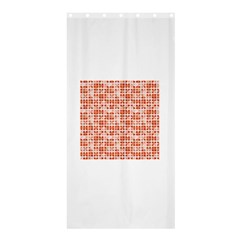 Pastel Red Shower Curtain 36  X 72  (stall)  by FunkyPatterns