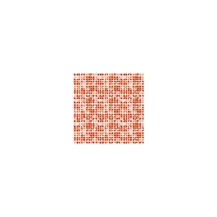 Pastel Red Shower Curtain 48  X 72  (small)  by FunkyPatterns
