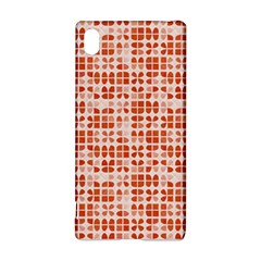 Pastel Red Sony Xperia Z3+ by FunkyPatterns