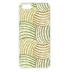 Pastel Sketch Apple Iphone 5 Seamless Case (white) by FunkyPatterns