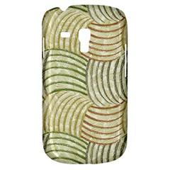 Pastel Sketch Samsung Galaxy S3 Mini I8190 Hardshell Case by FunkyPatterns