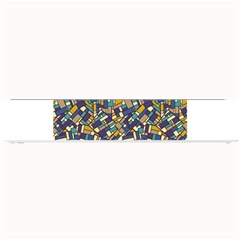 Pastel Tiles Small Bar Mats by FunkyPatterns
