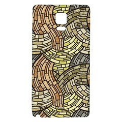Whimsical Galaxy Note 4 Back Case by FunkyPatterns
