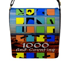 1000 cache bag Flap Closure Messenger Bag (L) by TheDean