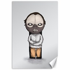 Dr  Lecter Canvas 20  X 30   by lvbart