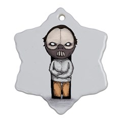 Dr. Lecter Ornament (Snowflake)  by lvbart