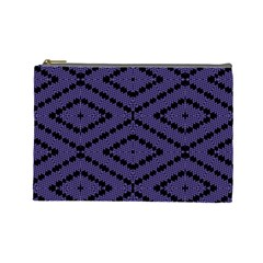 Reboot Computer Glitch Cosmetic Bag (large)  by MRTACPANS