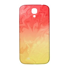 Ombre Orange Yellow Samsung Galaxy S4 I9500/i9505  Hardshell Back Case by BrightVibesDesign