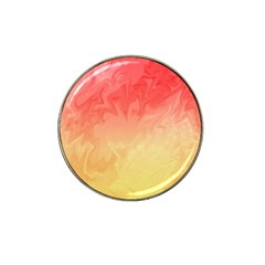 Ombre Orange Yellow Hat Clip Ball Marker (10 Pack) by BrightVibesDesign
