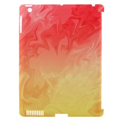 Ombre Orange Yellow Apple Ipad 3/4 Hardshell Case (compatible With Smart Cover) by BrightVibesDesign