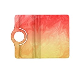 Ombre Orange Yellow Kindle Fire Hd (2013) Flip 360 Case by BrightVibesDesign