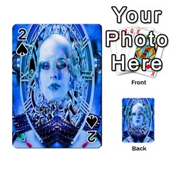 Clockwork Blue Playing Cards 54 Designs