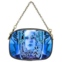 Clockwork Blue Chain Purses (two Sides)  by icarusismartdesigns
