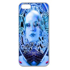 Clockwork Blue Apple Seamless Iphone 5 Case (clear) by icarusismartdesigns