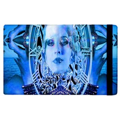Clockwork Blue Apple Ipad 2 Flip Case by icarusismartdesigns