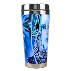 Clockwork Blue Stainless Steel Travel Tumblers by icarusismartdesigns