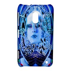 Clockwork Blue Nokia Lumia 620 by icarusismartdesigns