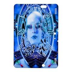 Clockwork Blue Kindle Fire Hdx 8 9  Hardshell Case by icarusismartdesigns