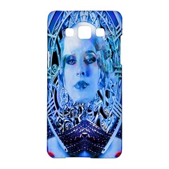 Clockwork Blue Samsung Galaxy A5 Hardshell Case  by icarusismartdesigns