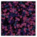 Confetti Hearts Large Satin Scarf (Square)