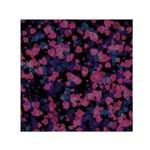 Confetti Hearts Small Satin Scarf (Square)