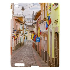 La Ronda Street Quito Ecuador Apple Ipad 3/4 Hardshell Case by dflcprints