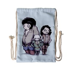Inconceivable Drawstring Bag (small) by lvbart