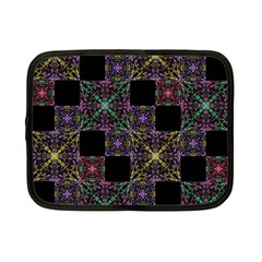 Ornate Boho Patchwork Netbook Case (small)  by dflcprints