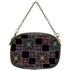 Ornate Boho Patchwork Chain Purses (one Side)  by dflcprints