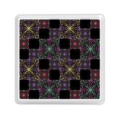 Ornate Boho Patchwork Memory Card Reader (square)  by dflcprints