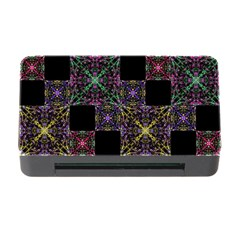 Ornate Boho Patchwork Memory Card Reader With Cf by dflcprints