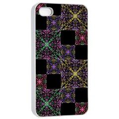 Ornate Boho Patchwork Apple Iphone 4/4s Seamless Case (white) by dflcprints