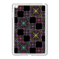 Ornate Boho Patchwork Apple Ipad Mini Case (white) by dflcprints