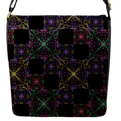 Ornate Boho Patchwork Flap Messenger Bag (s) by dflcprints