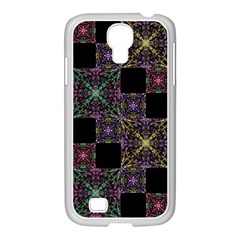 Ornate Boho Patchwork Samsung Galaxy S4 I9500/ I9505 Case (white) by dflcprints